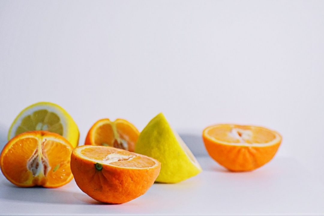 Three Citrus fruits