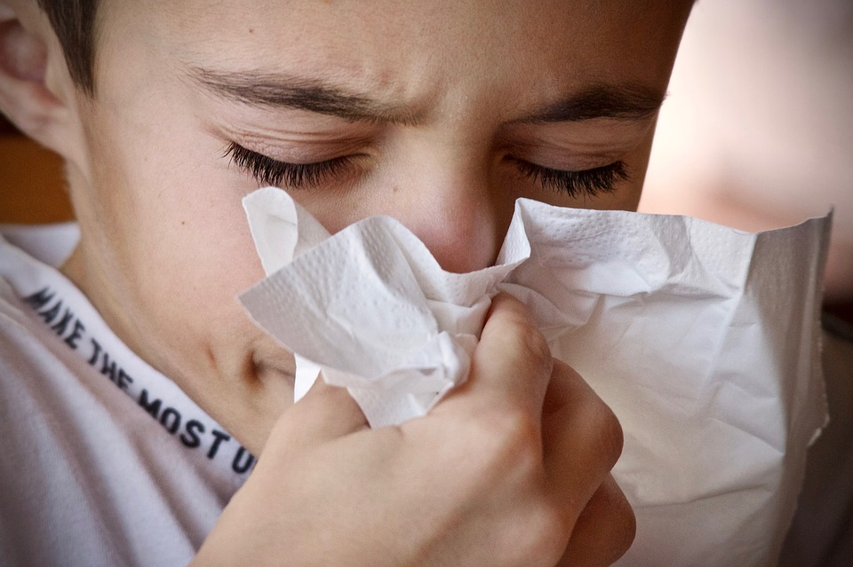 You or another family member has allergies